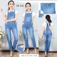 Baju Celana Kodok Overall Jumpsuit Werpack Panjang Sobek Ripped Jeans