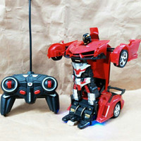 robot transformer bisa jadi mobil remote control