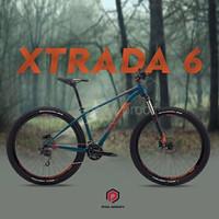 sepeda gunung united miami Sepeda Gunung MTB 27 5 Polygon Xtrada 6 R