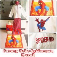 Jual Sarko (Sarung Koko Anak Karakter ) Spiderman  Merah Murah!