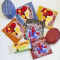 Sarung Instant Set Peci Balita Anak - Sarung Instan Sholat Anak Murah
