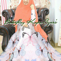 Baju unik wanita katun rayon maroon lebaran muslim sutera halus katun