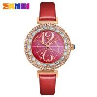 Promo EMWSA0RE SKMEI Jam Tangan Fashion Wanita 9158 Red