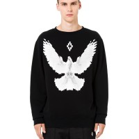 MARCELO BURLON FW18 - DOVE CREWNECK SWEATER/SWEATSHIRT ORIGINAL