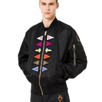 MARCELO BURLON FW18 - FLAGS ALPHA MA-1 JACKET ORIGINAL | JACKET BURLON