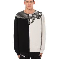 MARCELO BURLON FW18 - SNAKE WINGS CREWNECK SWEATER/SWEATSHIRT ORIGINAL