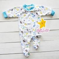 Baju Bayi Jumpsuit Baju Bayi Tutup Kaki Velvet