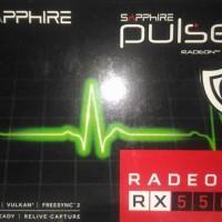 Sapphire RX 550 4GB DDR5 Pulse - 640 SP