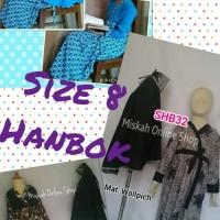 Abaya Hanbok Murah Anak Set Gamis Hanbok Banat Baju Muslim Anak Hanbok