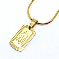 Jual Kalung Titanium Islami ANTI KARAT SELAMANYA KT133 Murah Murah