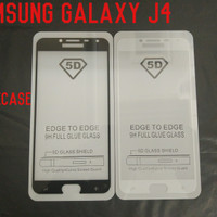 TEMPERED GLASS TEMPER GLASS FULL LEM FULL COVER SAMSUNG GALAXY J4