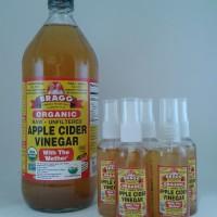 Bragg Organic Apple Cider Vinegar/Share in Botol 60 ml /Cuka Apel Asli