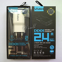 Charger VIVAN 2 USB for Samsung Asus Lenovo Oppo Xiaomi Sony & Tablet
