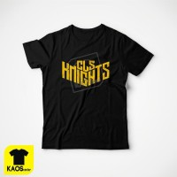 T1125 Kaos Tshirt Baju Combed 30S Distro CLS Knights Basket Surabaya