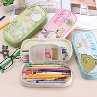 Korean TOTORO Pencil Case, Pencil Box, Pencil Bag, Kotak Pensil