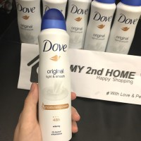DOVE Deodorant Spray Original Light & Smooth 150ml / 150 ml