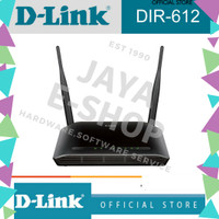 D-LINK DIR-612 N300 WIFI Router [FIRST MEDIA]
