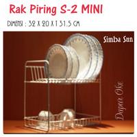 Rak Piring Susun 2 Mini