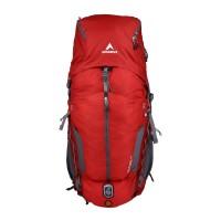 Eiger Tas Gunung Pria Excelsior 75 15L Borneo - Merah Abu