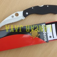 Pisau Lipat Folding Knife SPYDERCO VG10 FA28