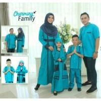 SRE01   Seragam branded Couple muslim baju sarimbit keluarga koko