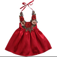 Dress anak / baju backless / baby doll