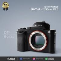 [NEW] SONY A7 + FE 50mm f/1.8 @Gudang Kamera Malang