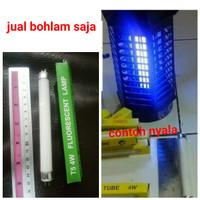 Lampu anti (perangkap) nyamuk UV ultraviolet (T5/4W) alat lampu tidur