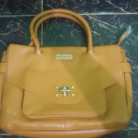 PIERRE CARDIN PARIS HANDBAG / TAS WANITA / TAS KULIT / LEATHER BAG