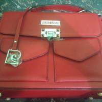 Pierre Cardin Paris hand bag / tas pegang wanita / tas kulit / leather