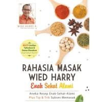 Buku Memasak : Rahasia Masak Wied Harry Enak Sehat Alami Best Seller