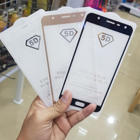 Samsung Galaxy J7 Duo Full Cover Tempered glass Anti gores kaca Warna
