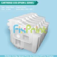 Cartridge CISS 6 Warna Epson L800 L850 L1300 L1800 New Original
