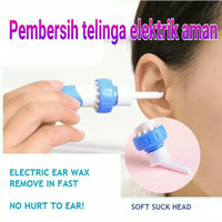 Alat Penyedot Kotoran Telinga Elektrik Aman Untuk Anak Dewasa-Wax Vac