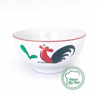 Mangkok Nasi Besar Ayam Jago seri 2 - Mangkok Sup