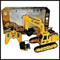 Rc excavator digger mobil remot beko kobelco