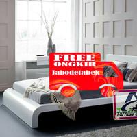 tempat tidur ranjang minimalis dipan kayu jati high eropa REX dewasa