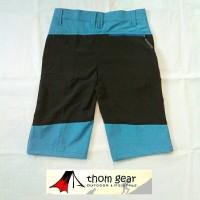 Celana pendek outdoor terbaru biru salomon mtb sepeda gunung outdoor