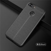 LEATHER AUTO FOCUS Huawei Honor 9 Lite soft case casing hp back cover