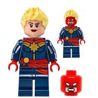 Jual Marvel Avengers Captain Marvel Marvell Infinity War Minifigure Lego kw Murah