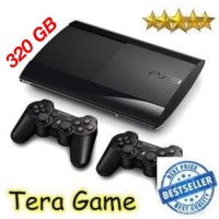 PS3 Super Slim 320GB Full Games Original