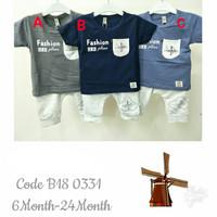 Baju Setelan Kaos Anak Bayi Lucu | Baju Anak Cowok | Pakaian Anak Laki