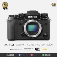 [NEW-PROMO] Fujifilm X-T2 - Body Only - Black Noir @Gudang Kamera MLG
