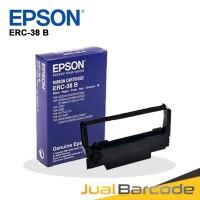 CARTRIDGE PITA RIBBON PRINTER KASIR EPSON TMU 220 - ERC-38 B BLACK ORI