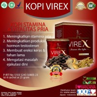 Kopi Virex - Kopi Kuat Pria Penambah Stamina Kejantanan Dan Vitalitas
