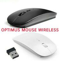 Mouse wireless tanpa kabel tipis slim mini / mouse gaming pc komputer