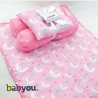 Perlengkapan tidur tas matrass bantal pakaian kado bayi baby gift set