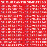 Jual Nomor Cantik Kartu Perdana Nomor Simpati No Telkomsel Indosat XL Axis Murah