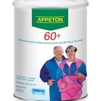 APPETON 60+ / Susu Lansia - Orang Tua (Vanilla) 450 Gram apeton 450gr