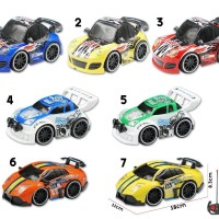 Mainan Anak - RC Racing Car Mini Mobil Remote Control Kecil Lampu